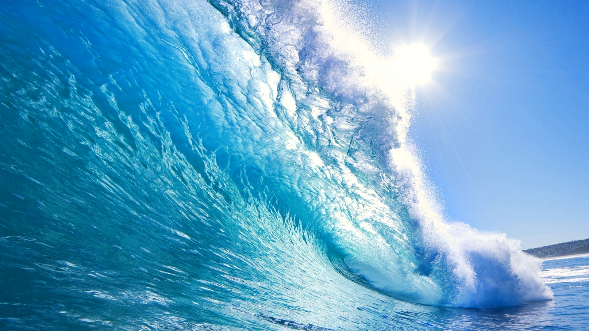 crystal-blue-waves-beach-beautiful-blue-crystal-nature-ocean-pretty-sea-sky-stunning-summer-sun-water-waves